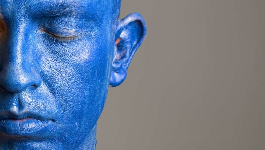 Blue Man Paul Karason