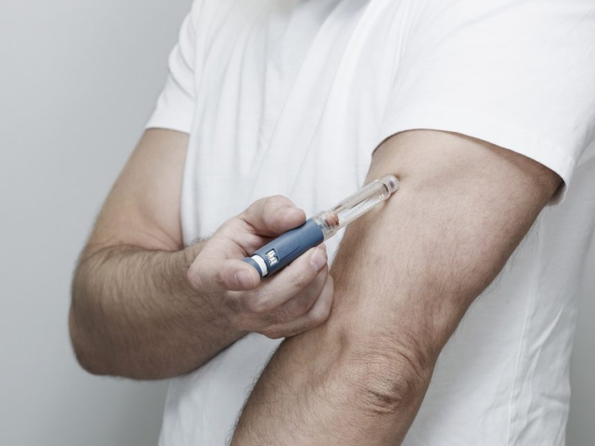 Diabetes injection pen.