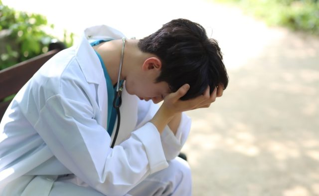 A doctor facing bullying