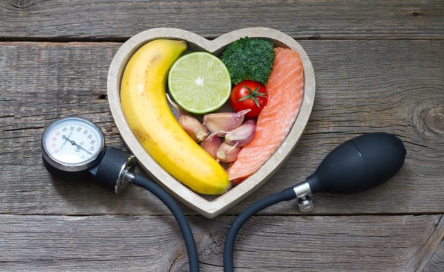 Heart healthy food, nutrition, diet