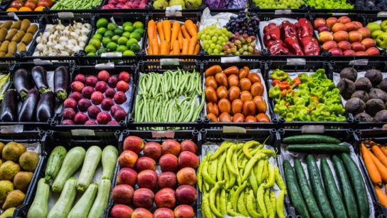 Mixed fruits and vegetable