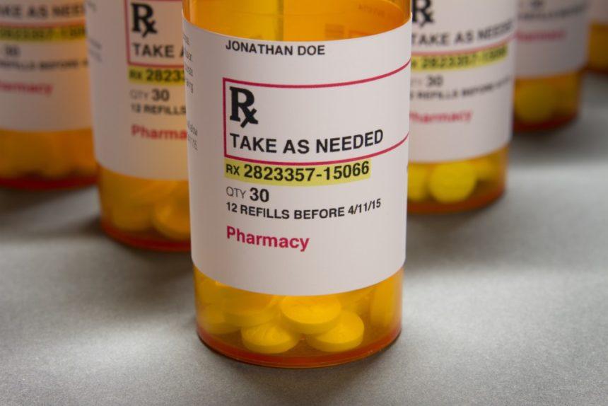 Prescription opioid medication
