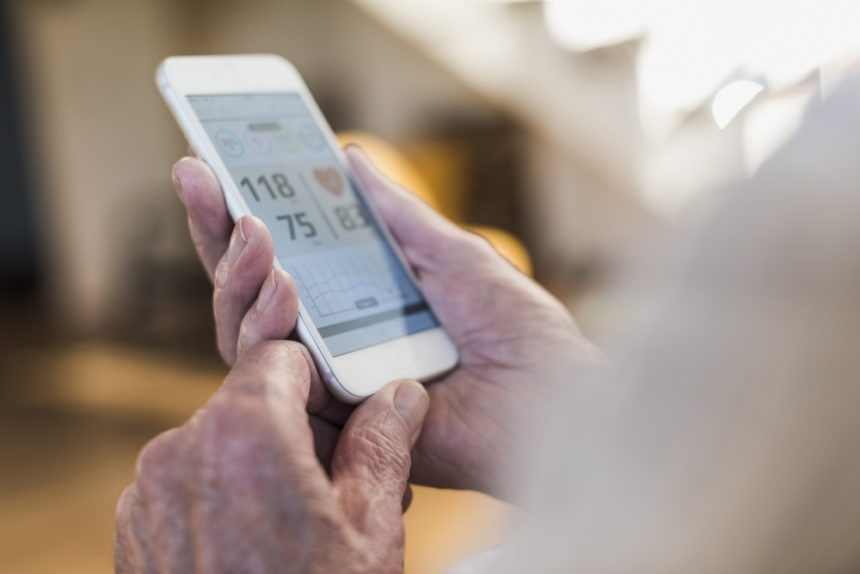 Using smartphone to track blood pressure