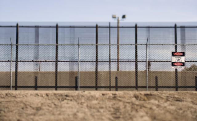 America-Mexico border wall.