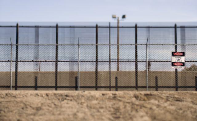 America-Mexico border wall.