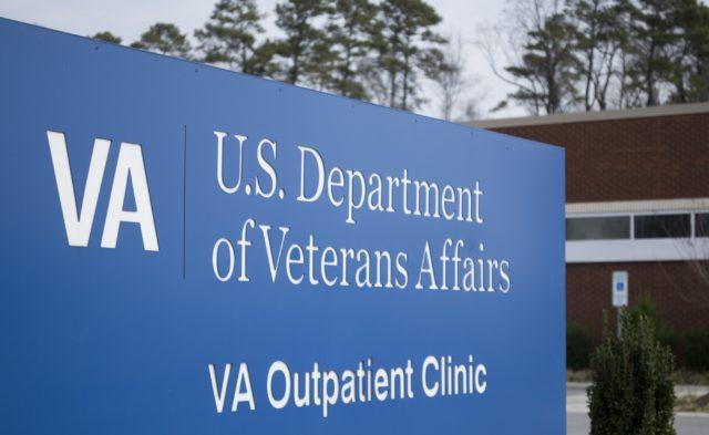 Veteran Affairs sign