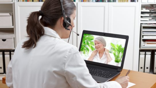video call with patient