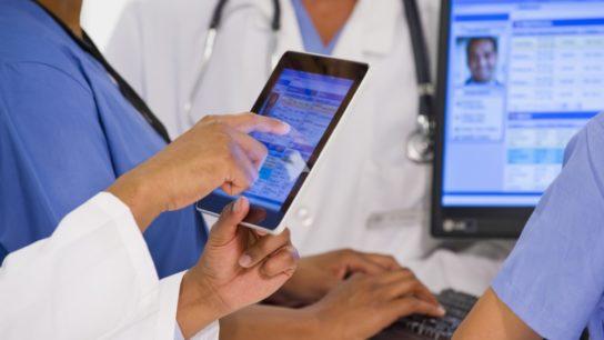 Physicians using EHR data.