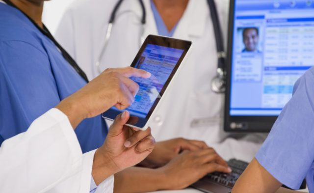 Physicians using EHR data.