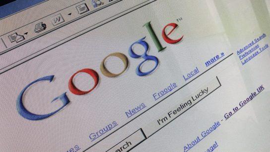 google search bar on internet