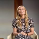 Gwyneth Paltrow on stage at In GOOP health