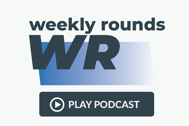 Weekly Rounds podcast logo.