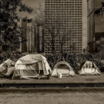 homeless tents