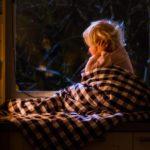 child awake at night