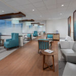 Waiting area in healthcare facility